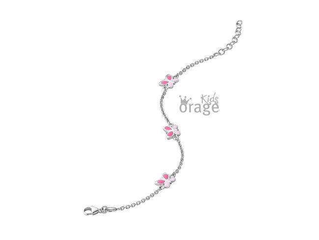 Orage Kids | Bracelet | Argent | Papillon | K2080