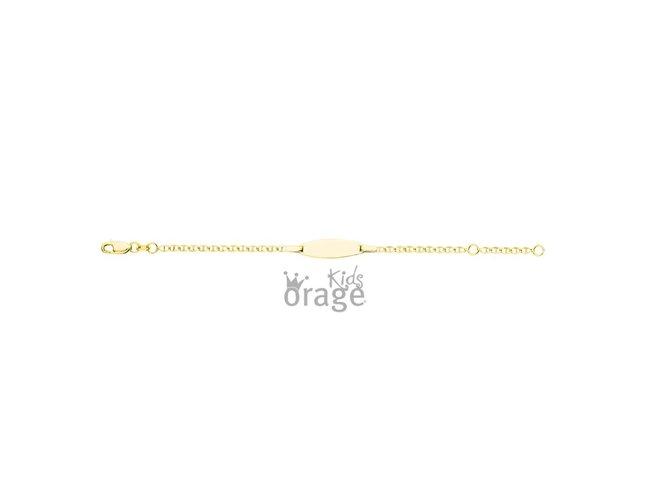 Orage Kids | Bracelet | Identité Bébé | Or 9K | K2045