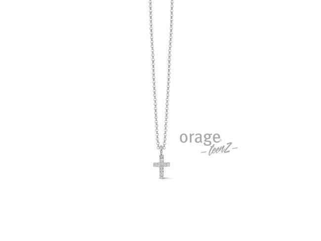 Orage | Collier | Argent | Croix | T404