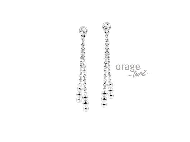 Orage Teenz | Boucles d'Oreilles | Argent | T466