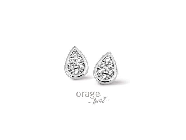 Orage Teenz | Boucles d'Oreilles | Argent | T362