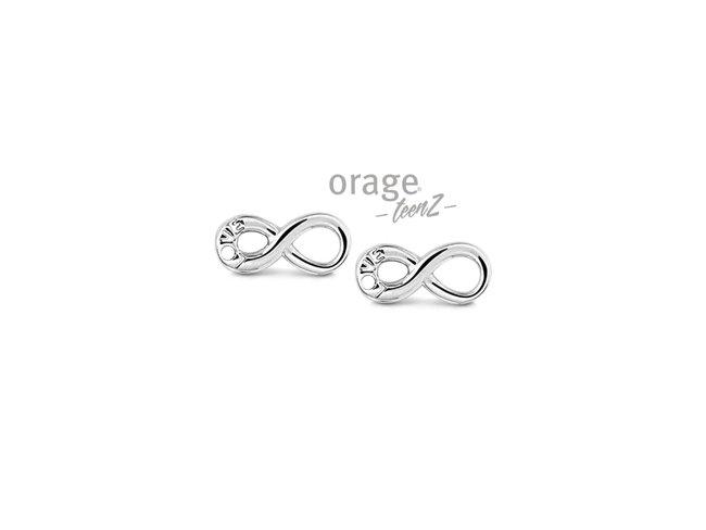 Orage Teenz | Boucles d'Oreilles | Argent | Infinity | T475