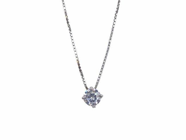 Loumya Silver | Collier | Argent | Oxyde de Zirconium