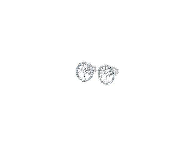Lotus Silver   Boucles d'Oreilles  Argent Arbre de Vie LP1778-4/1