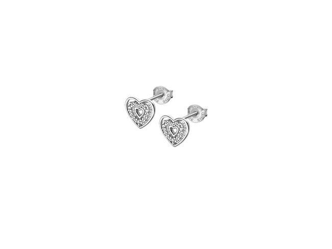 Lotus Silver   Boucles d'Oreilles   Argent   Coeur  LP3143-4/1