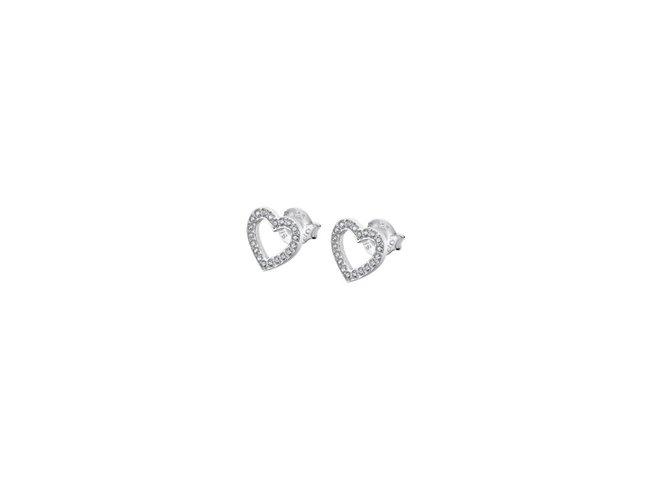Lotus Silver   Boucles d'Oreilles   Argent   Coeur   LP1864-4/1