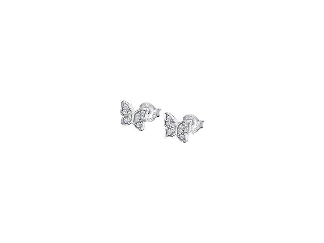 Lotus Silver   Boucles d'Oreilles   Argent  Papillon   LP3051-4/1