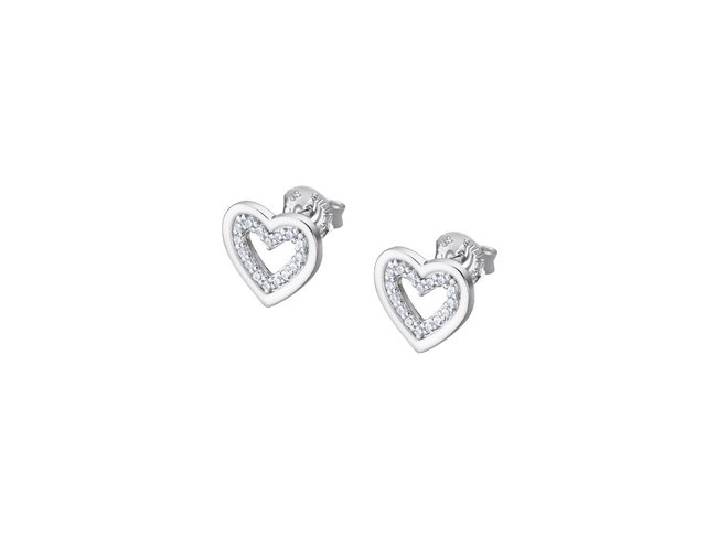 Lotus Silver   Boucles d'Oreilles   Argent   Coeur   LP3123-4/1