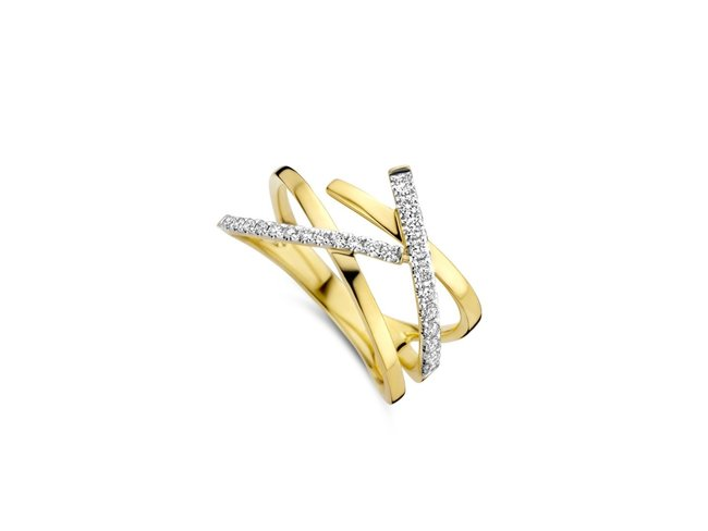 Loumya Gold | Bague | Or Bicolore | Diamants