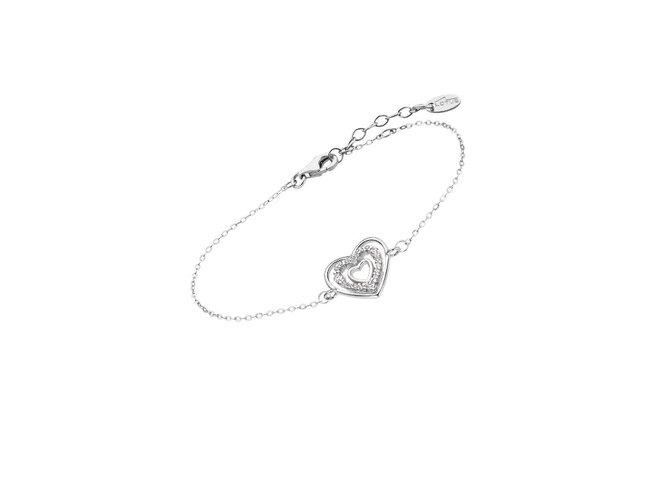 Lotus Silver | Bracelet | Argent | Coeur | LP3143-2/1
