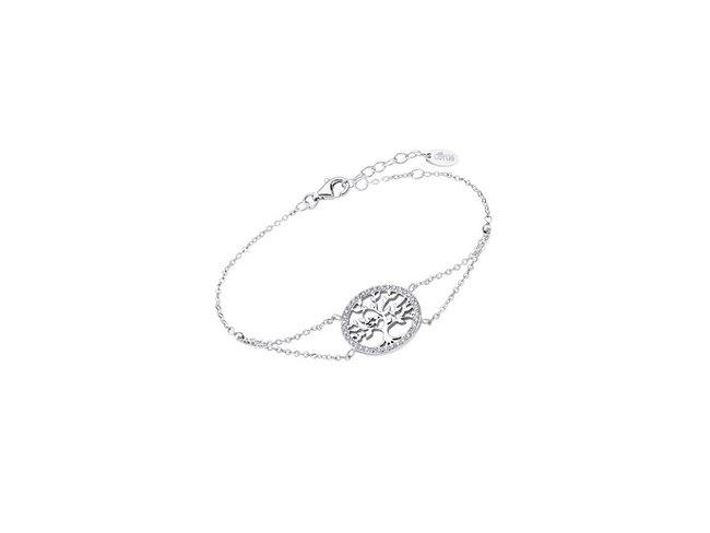 Lotus Silver | Bracelet | Argent | Arbre de Vie | LP1746-2/1