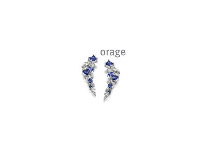 Orage | Boucles d'Oreilles | Argent | AP078