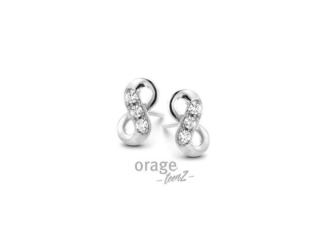 Orage Teenz | Boucles d'Oreilles | Argent | Infini | T477