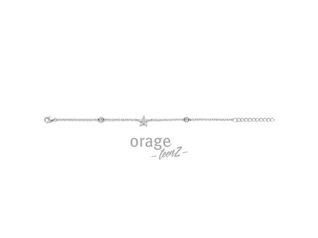 Orage Teenz | Bracelet | Argent | Etoile | T425