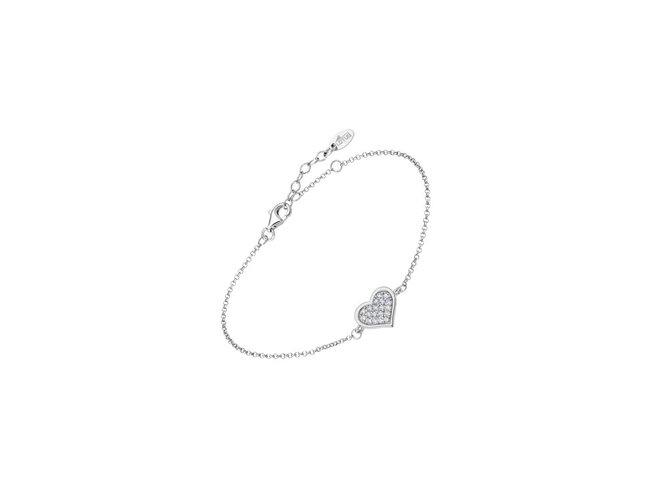 Lotus Silver | Bracelet | Argent | Coeur | LP3125-2/1
