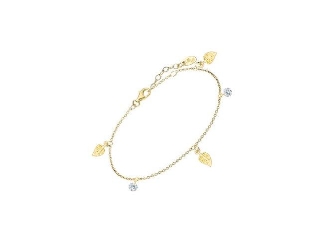 Lotus Silver | Bracelet | Plaqué Or | LP3008-2/2