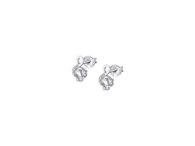 Lotus Silver | Boucles d'Oreilles | Argent|Clé de Sol |LP3018-4/1