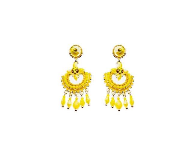 BIBA | Boucles d'oreilles - Métal | Acrylique