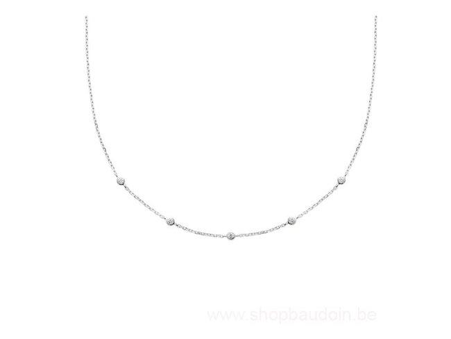 Bijoux CN Paris   Collier   Argent   Oxyde de Zirconium   87344645