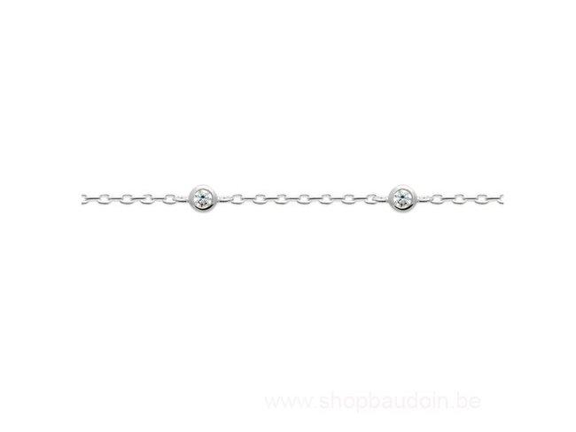 Bijoux CN Paris   Bracelet   Argent   oxyde de Zirconium   87344618