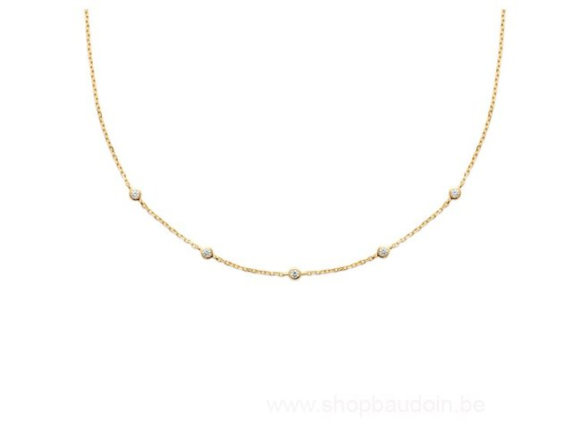 Bijoux CN Paris | Collier | Plaqué Or | Oxyde de Zirconium |97344645
