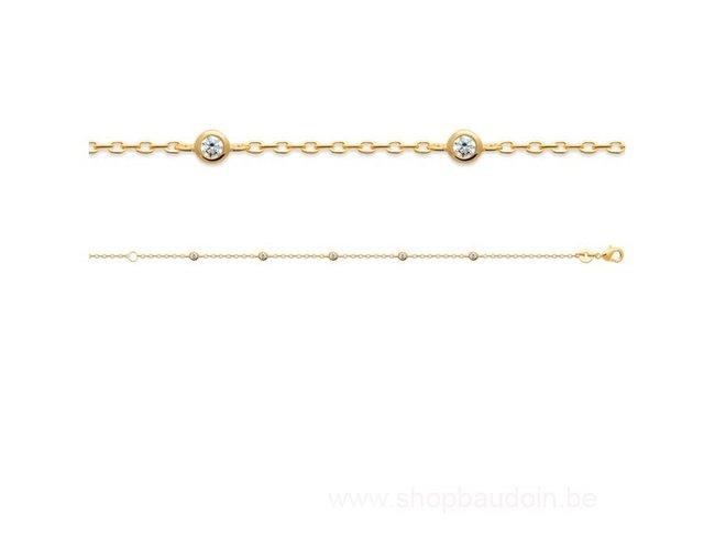 Bijoux CN Paris   Bracelet   Plaqué Or   97344618