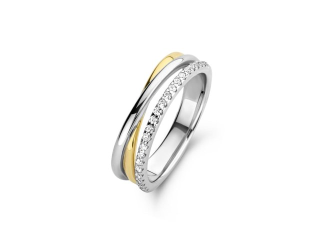 Naiomy Silver   Bague   Argent   Bicolore   N1H51