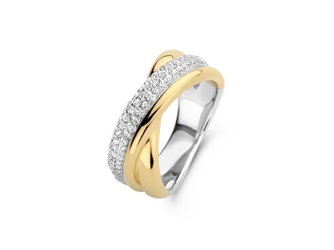 Naiomy Silver   Bague   Argent   Bicolore   N1H54