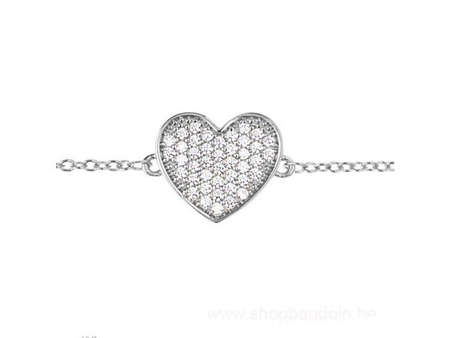 Saunier | Bracelet | Argent | Coeur | 7033217 11