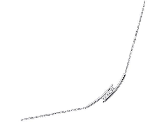 Saunier | Collier | Argent | Oxyde de Zirconium | 2573512 11
