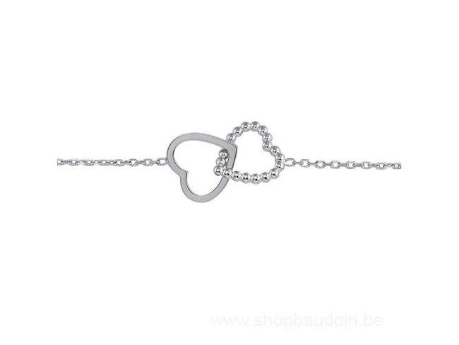 Saunier | Bracelet | Argent | Coeur | 7011139 11