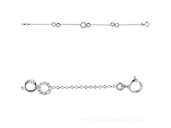 Saunier | Bracelet | Argent | oxyde de Zirconium |7021614 11
