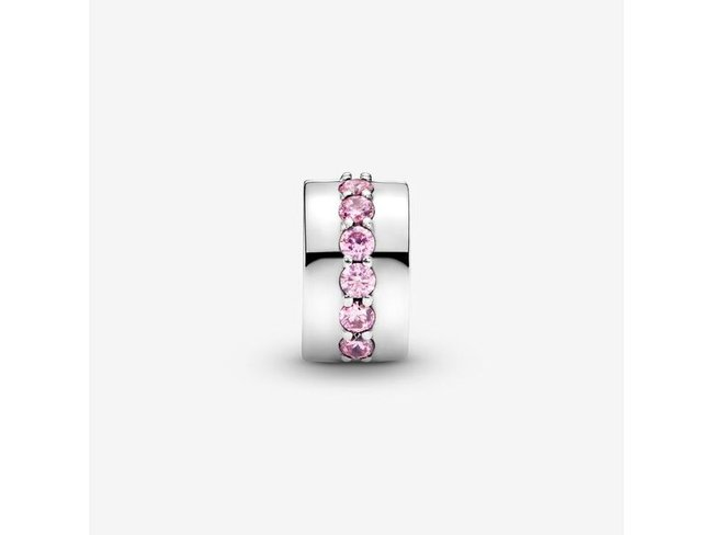 Pandora | Charm | Clip | Rangée Scintillante Rose |791972PCZ