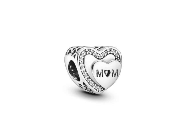 Pandora | Charm | Cœur Maman Scintillant | 792070CZ
