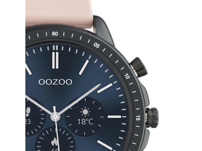 OOZOO | Swartwatch | Caoutchouc Rose | Noir | Q00304Q00329