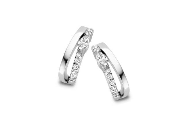 Naiomy Silver | Boucles d'Oreilles | Argent | B1K03