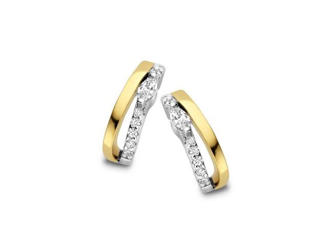Naiomy Silver | Boucles d'Oreilles | Argent Bico | B1K07