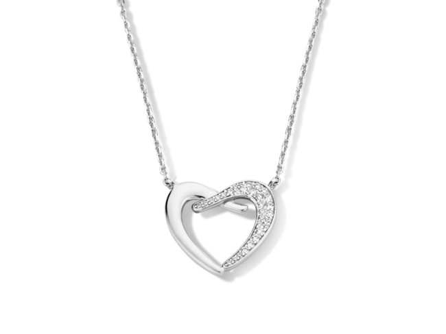 Naiomy Silver | Collier | Argent | Coeur | N1C52