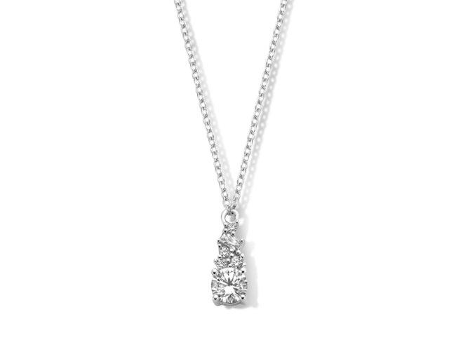 Naiomy Silver | Collier | Argent | Oxyde de Zirconium | B1I02
