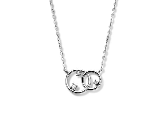 Naiomy Silver | Collier | Argent | B1G02