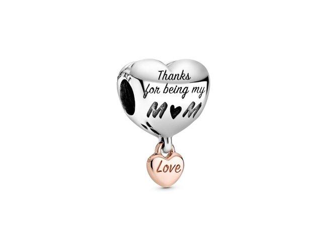 Pandora | Charm | Cœur de Maman Rose | 788830C00