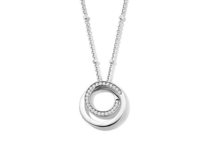 Naiomy Silver | Collier | Argent | Oxyde de Zirconium | B1H02
