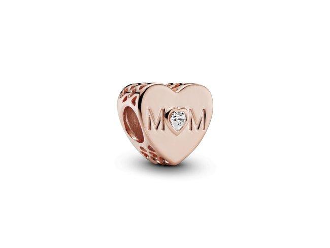 Pandora | Charm | Cœur de Maman Incolore | Rosé | 781881CZ