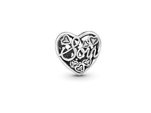 Pandora | Charm |  Coeur| Inscription Mère & Fils | 792109CZ