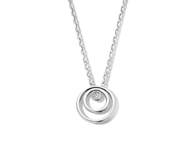 Naiomy Silver | Collier | Argent | Oxyde de Zirconium | B1H08