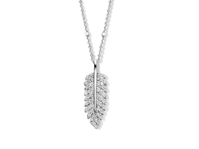 Naiomy Silver | Collier | Argent | Oxyde de Zirconium | B1E02