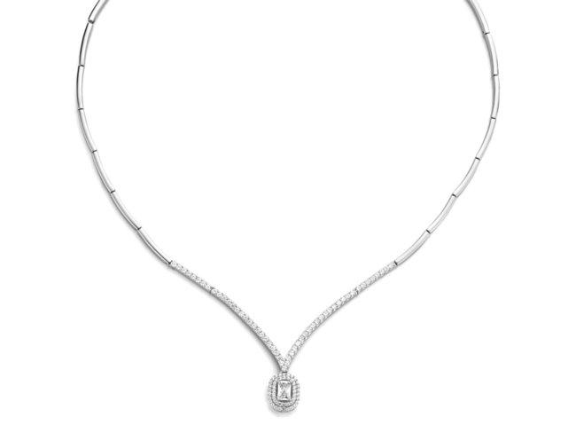 Naiomy Silver | Collier | Argent | Oxyde de Zirconium | N1A52