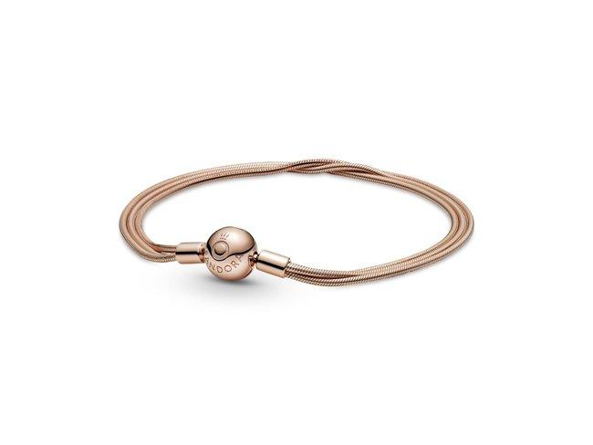 Pandora | Bracelet | Moments | Multi-Rangs| Rosé | 589338C00