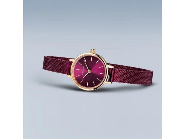 Bering   Quartz   Classic   Or Rose Brillant   11022-969