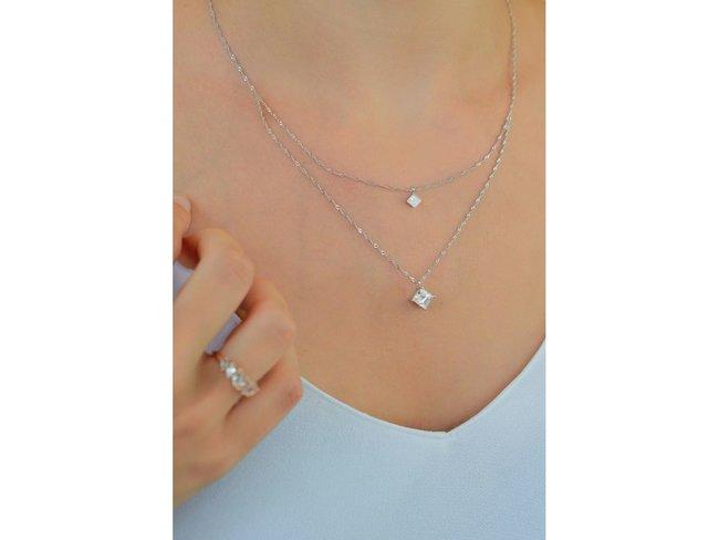 Diamanti Per Tutti | Collier | Argent | Diamants | M1695 AG